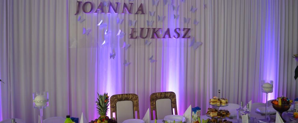 Dekoracje ślubne w Łodzi