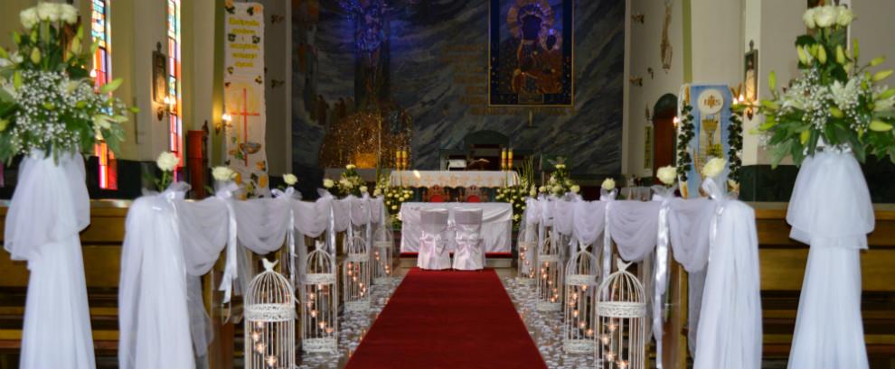 Dekoracja kościołów Łódź